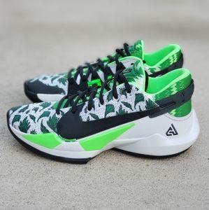 Nike Zoom Freak 2 Naija Men's Shoes Size 9 White
